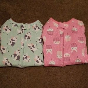 Other - 3t girls footie Pajamas thin material